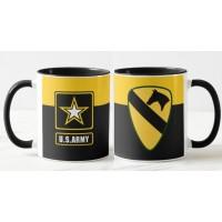 Керамічна чашка 1st Cavalry Division US Army