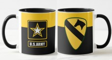 Керамічна чашка 1st Cavalry Division (кольорова)