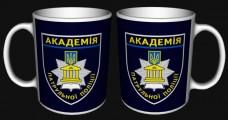 Купить Керамічна чашка Академія Патрульної Поліції в интернет-магазине Каптерка в Киеве и Украине
