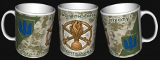 Купить Керамічна чашка Бог Любить ПІхоту! Піхота Любить Каву! (пиксель) в интернет-магазине Каптерка в Киеве и Украине