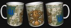 Керамічна чашка Механізовані Війська ЗСУ (піксель)