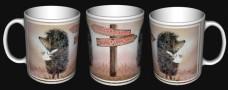 Керамічна чашка Топографічний кретинізм