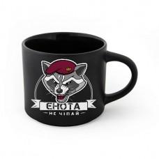 Купить Керамічна чашка Не чіпай єнота! ТМ АРМІЯ в интернет-магазине Каптерка в Киеве и Украине