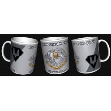 Керамічна чашка Вовкулака ССО (сіра)