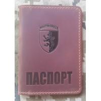 Обкладинка Паспорт 24 бригада ім. Короля Данила (руда)