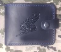 Шкіряний гаманець Авіація ЗСУ