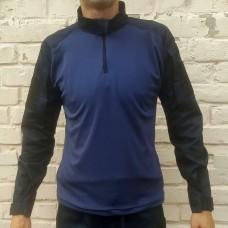 Рубашка Ubacs Navy Blue (синя) Сезонний розпродаж Останній розмір