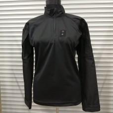 Купить Тактична сорочка UBACS BLACK з люверсом для жетону в интернет-магазине Каптерка в Киеве и Украине