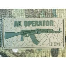 PVC патч AK OPERATOR Khaki