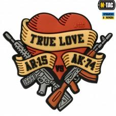 PVC патч M-TAC TRUE LOVE