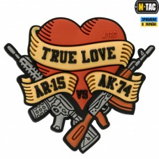 Купить PVC патч M-TAC TRUE LOVE в интернет-магазине Каптерка в Киеве и Украине