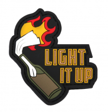 PVC патч LIGHT IT UP 3D PVC PATCH