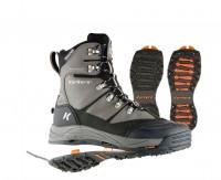 Зимові черевики Korkers SnowJack з накладками проти льоду Акція на останній розмір