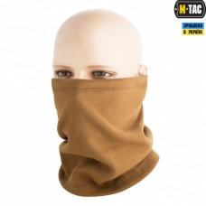 Зимовий шарф-труба короткий M-Tac ELITE COYOTE BROWN з затяжкою