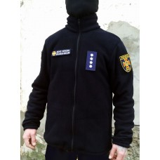 Куртка флісова темно-синя ДСНС 350гм Спеціальна АКЦІЯ до відкриття нового магазину!
