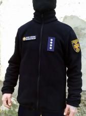 Купить Куртка флісова темно-синя ДСНС 350гм в интернет-магазине Каптерка в Киеве и Украине
