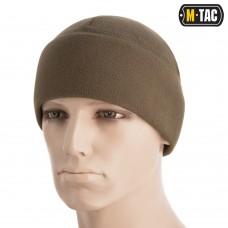 Шапка M-Tac Watch Cap Elite фліс (260г/м2) with Slimtex Dark Olive