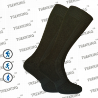 Зимние термоноски Merino Wool ТМ Треккинг (Украина) MidWinter темно-зеленые