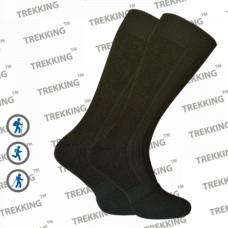 Термоноски зимние Merino Wool ТМ Треккинг (Украина) MidWinter темно-зеленые