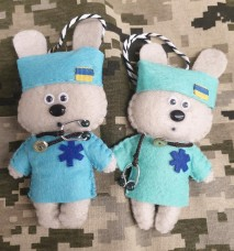 Купить М'яка іграшка Зайка Медик в интернет-магазине Каптерка в Киеве и Украине