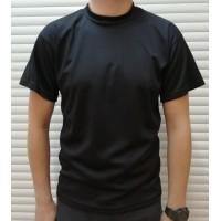Футболка Coolmax Black з липучками на рукавах
