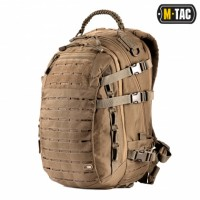 25л Рюкзак M-TAC MISSION PACK LASER CUT COYOTE Ручка из Paracord