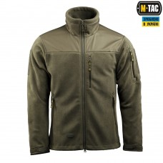 Куртка флисовая M-Tac Alpha Microfleece Jacket GEN.2 420 гм ARMY OLIVE