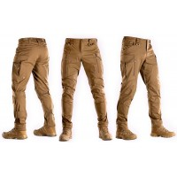Брюки M-TAC CONQUISTADOR FLEX COYOTE BROWN с пропиткой Teflon