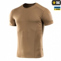 Футболка з липучкою кулмакс M-TAC Athletic Velcro COYOTE BROWN