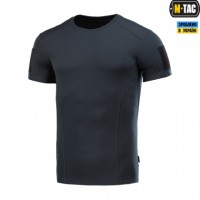 Футболка з липучкою кулмакс M-TAC Athletic Velcro DARK NAVY BLUE