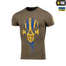 Футболка Punisher M-TAC YELLOW/BLUE олива