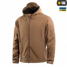 Куртка флисовая с капюшоном M-Tac WINDBLOCK DIVISION GEN.2 COYOTE
