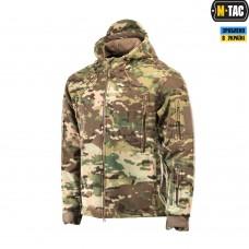 Куртка флисовая с капюшоном M-Tac WINDBLOCK DIVISION GEN.2 MULTICAM