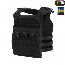 Купить Чехол бронежилета (плитоноска) M-TAC ALPC 1000D Cordura BLACK в интернет-магазине Каптерка в Киеве и Украине