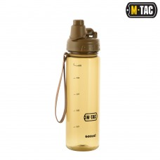 Пляшка для води M-Tac 600ml Coyote