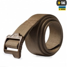Ремень брючный M-Tac Double Duty Tactical Belt Hex Coyote 40мм