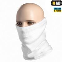M-Tac шарф-труба з затяжкою фліс (260г/м2) білий
