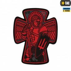 Шеврон Св. Михайло (червоно-чорний)