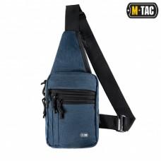 Сумка-кобура наплечная M-Tac с липучкой JEAN BLUE