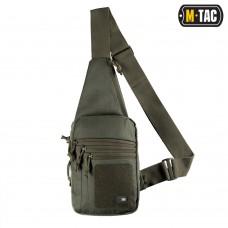 Сумка-кобура наплечная M-Tac с липучкой OLIVE