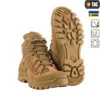 Демисезонні черевики M-TAC MK.2 R COYOTE BROWN мембрана