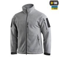 Куртка флісова M-Tac Alpha Microfleece Gen.II GREY
