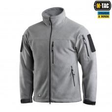 Куртка флисовая M-Tac Alpha Microfleece Jacket GEN.2 420 гм GREY