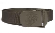 Ремень брючный MIL-TEC USMC 30мм OLIVE