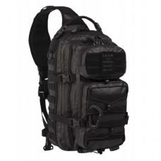 Рюкзак однолямочний MIL-TEC ONE STRAP ASSAULT PACK PVC чорний