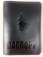 Обкладинка Паспорт 73 МЦСО ССО ЗСУ (т.синя лакова)