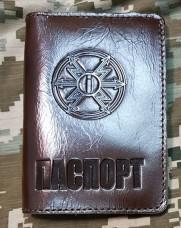Обкладинка Паспорт знак Радіотехнічних Військ та Військ Зв'язку Акція Оновлення Асортименту