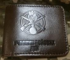Обкладинка УБД Піхота (коричнева лакова шкіра)