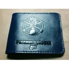 Обкладинка Учасник Бойових Дій Піхота УБД ЗСУ (синя лакова шкіра)