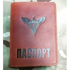 Обкладинка на Паспорт ДШВ України (руда) Розпродаж
